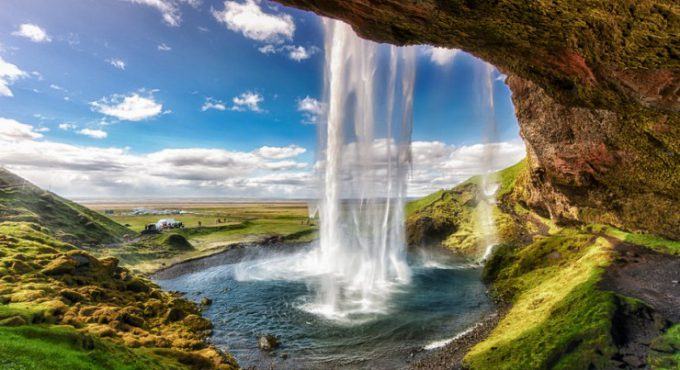 Explore multiple stunning waterfalls in Iceland