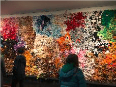 The Stuffed Animal Wall at the Montreal Museum of Fine Arts