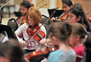 Musical workshop under local professional guidance and leadership